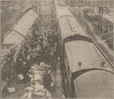 Arriving Station