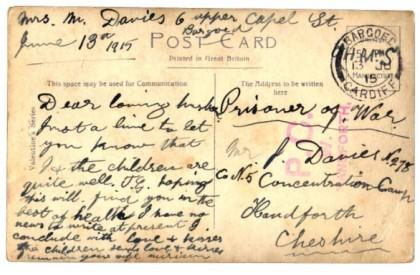 Davies Postcard
