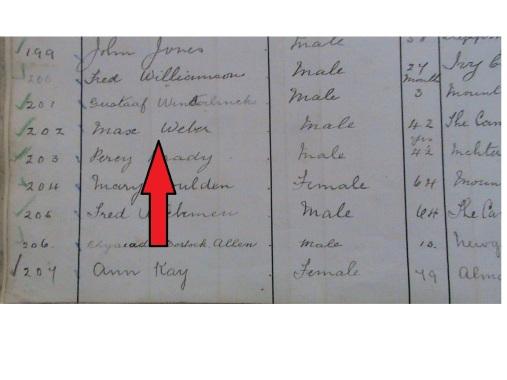 Weber Register